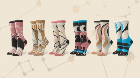 What's your SIGN Girl? Introducing the Zodiac Collection from STANCE. Match her socks to her personality. The perfect stocking stuffer!