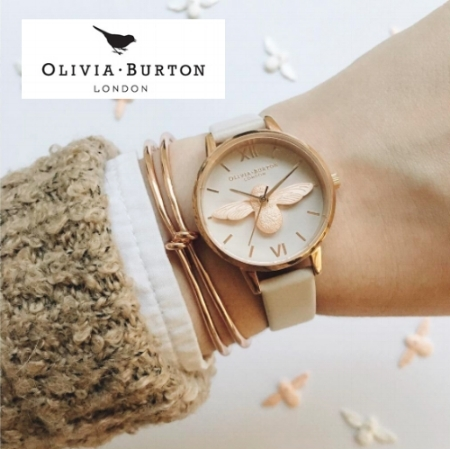 Just in TIME for the Holidays! OLIVIA BURTON watches have arrived. Bursting full of personality, femininity and timeless charm, Olivia Burton lovingly creates each timepiece with a meticulous attention to detail. Blending vintage inspirations and fashion forward trends, each stylish watch showcases the brand's signature style.