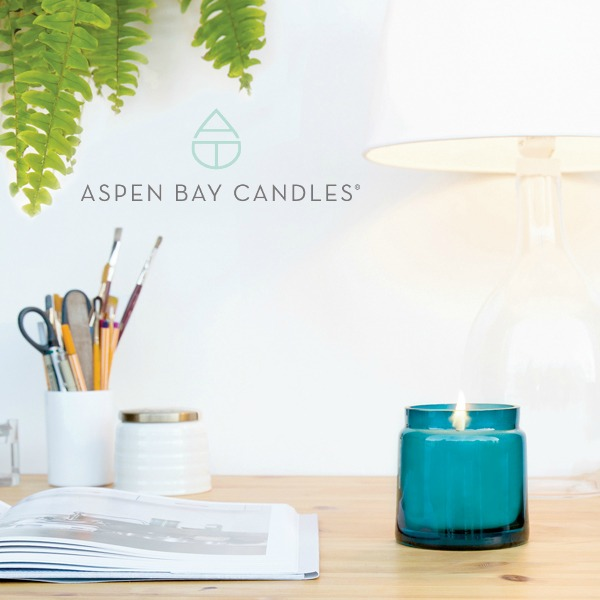 ASPEN BAY CANDLES Quality products with outstanding fragrances. Handcrafted candles featuring unique fragrances in class inspired vessels. A lovely addition to your spring decor!