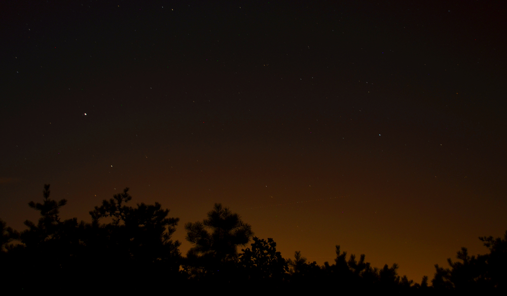 Pine Barrens Night Sky - New Gretna, NJ