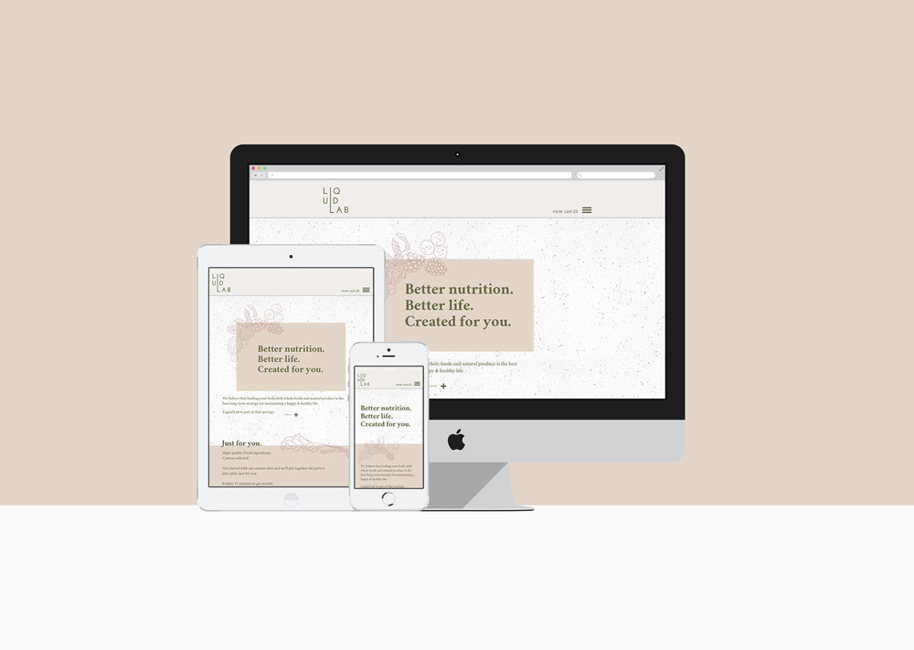 Liquid Lab Responsive Design