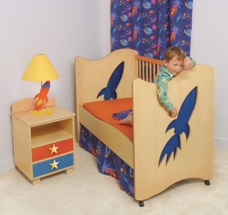Rocket Toddler Bed children's furnishings  a beautiful home is in the  details