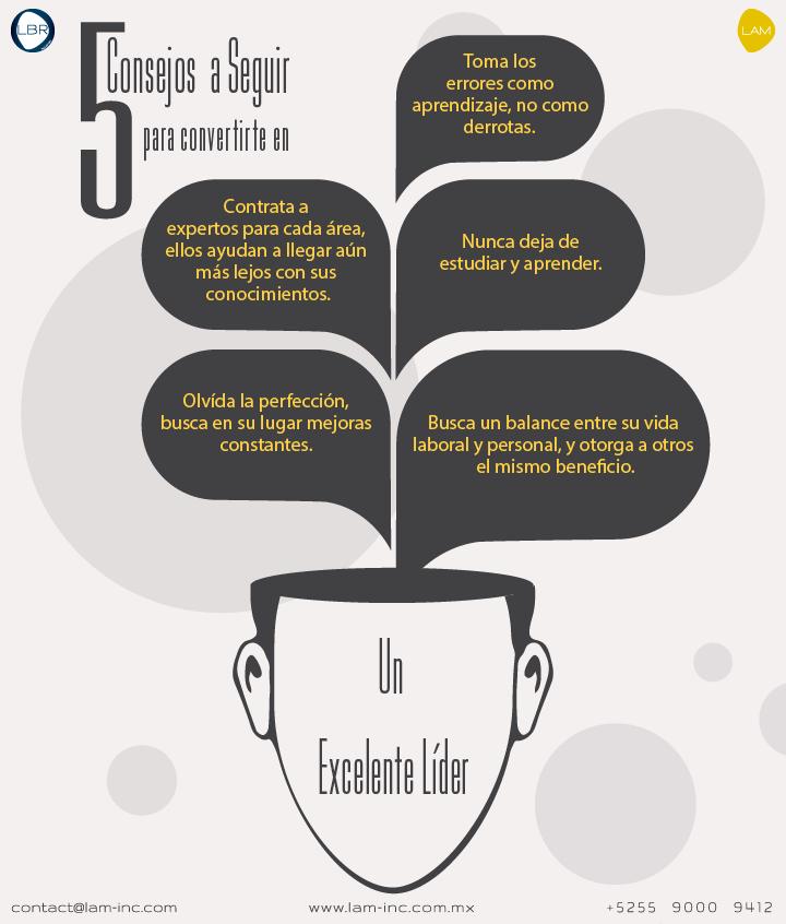 5 Consejos para Ser un Excelente Líder