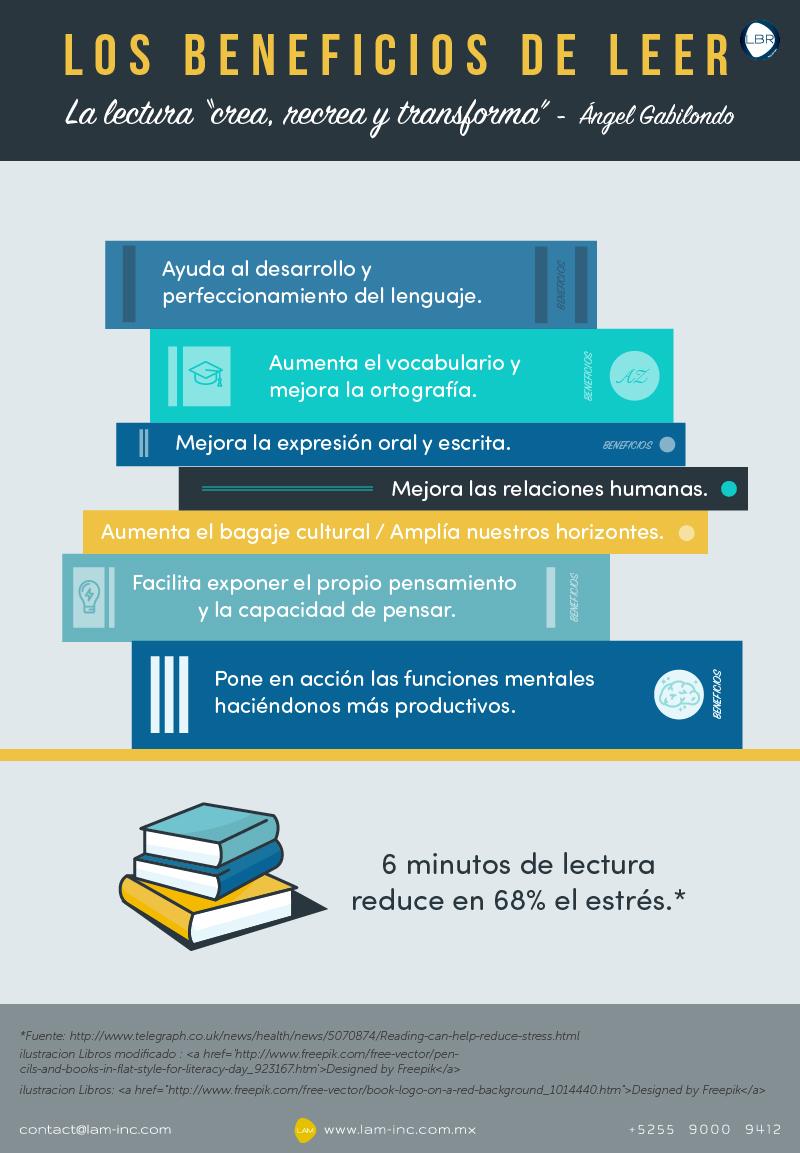 beneficos de leer