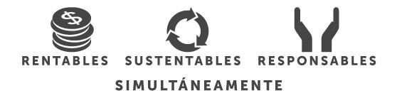 rentabilidad, sustentabilidad, responsabilidad