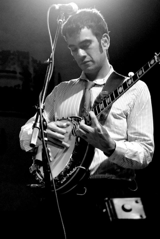 Noam Pikelny of Punch Brothers at ROMP in 2012.