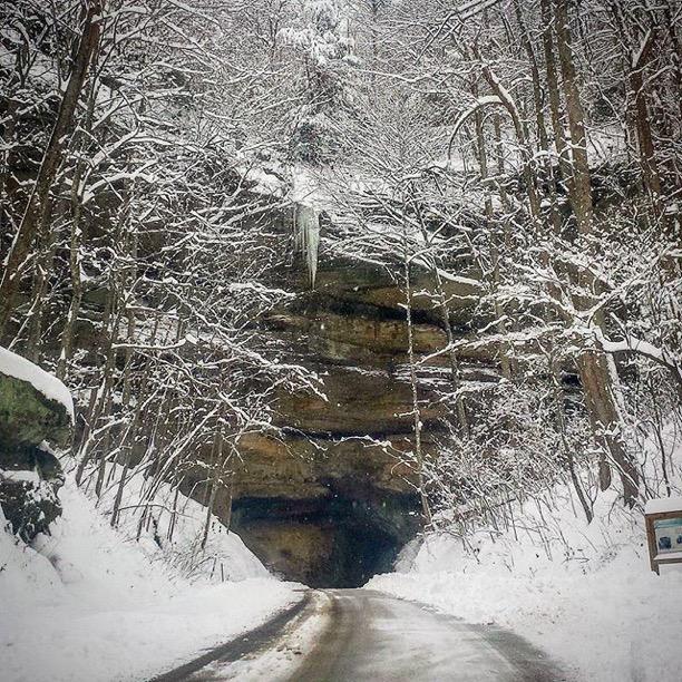 Nada Tunnel, Powell County, Kentucky Photo via Instagrammer@iamtomsmith
