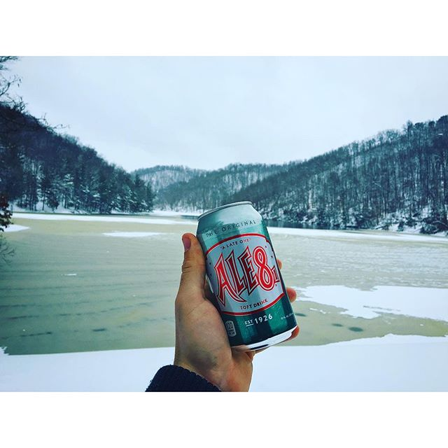 """  Kentuckified Winter "" ""  Eagle Lake Trail, Morehead , Kentucky  Photo via Instagrammer  @jojo_hardin"