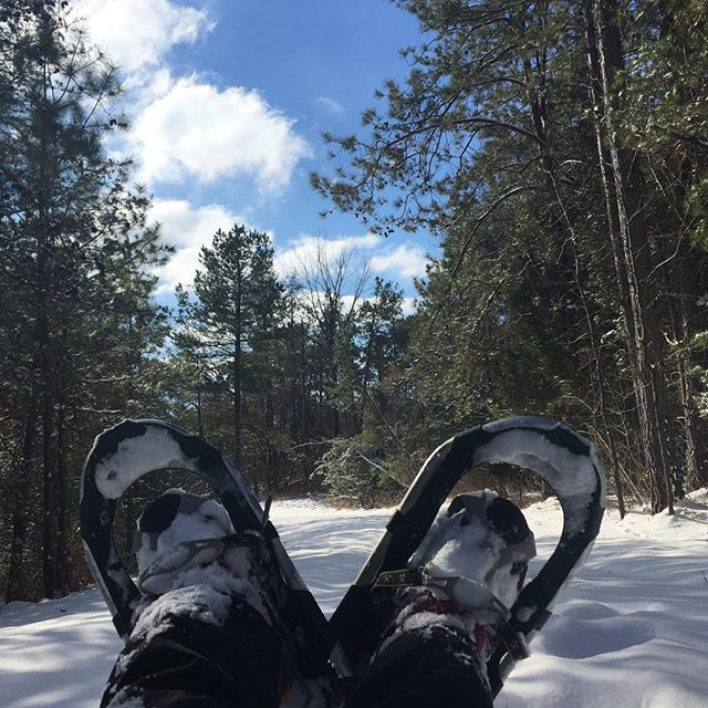 """  Snowshoeing in KY!! ""  Fort Knox, Kentucky  Photo via   @automaticwanderer"