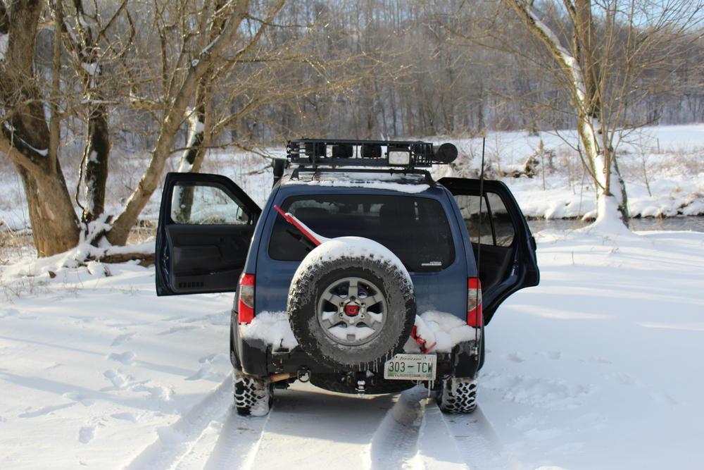 Caleb's Xterra - Photo by: Ellen Linder