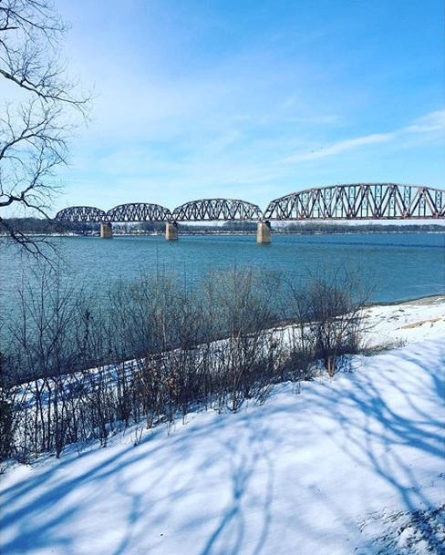 """ Scenes from the riverfront""  Henderson, Kentucky  Photo via Instagrammer  @iamalive41"