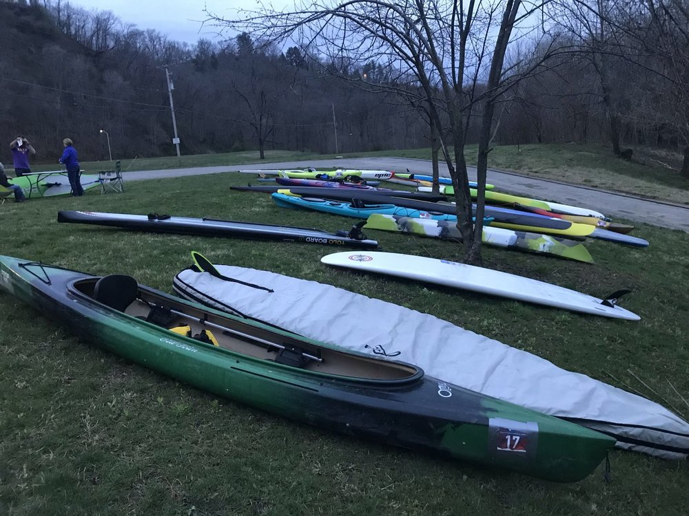 Paddle Transition Area at Old Lawrenceburg Road Boat Ramp. Photo by Lisle Adams