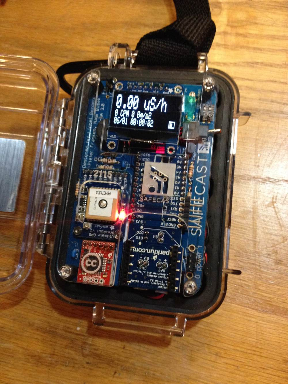 Custom Built Geiger Counter