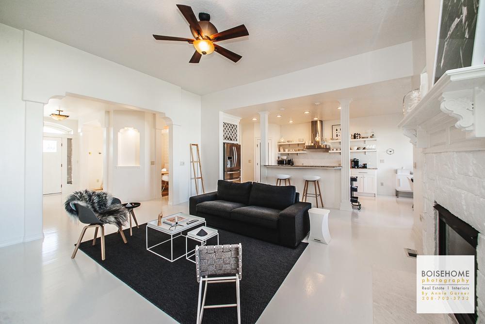 Elegant Contemporary Interior Design // Meridian Idaho U2014 Boise Home Photography