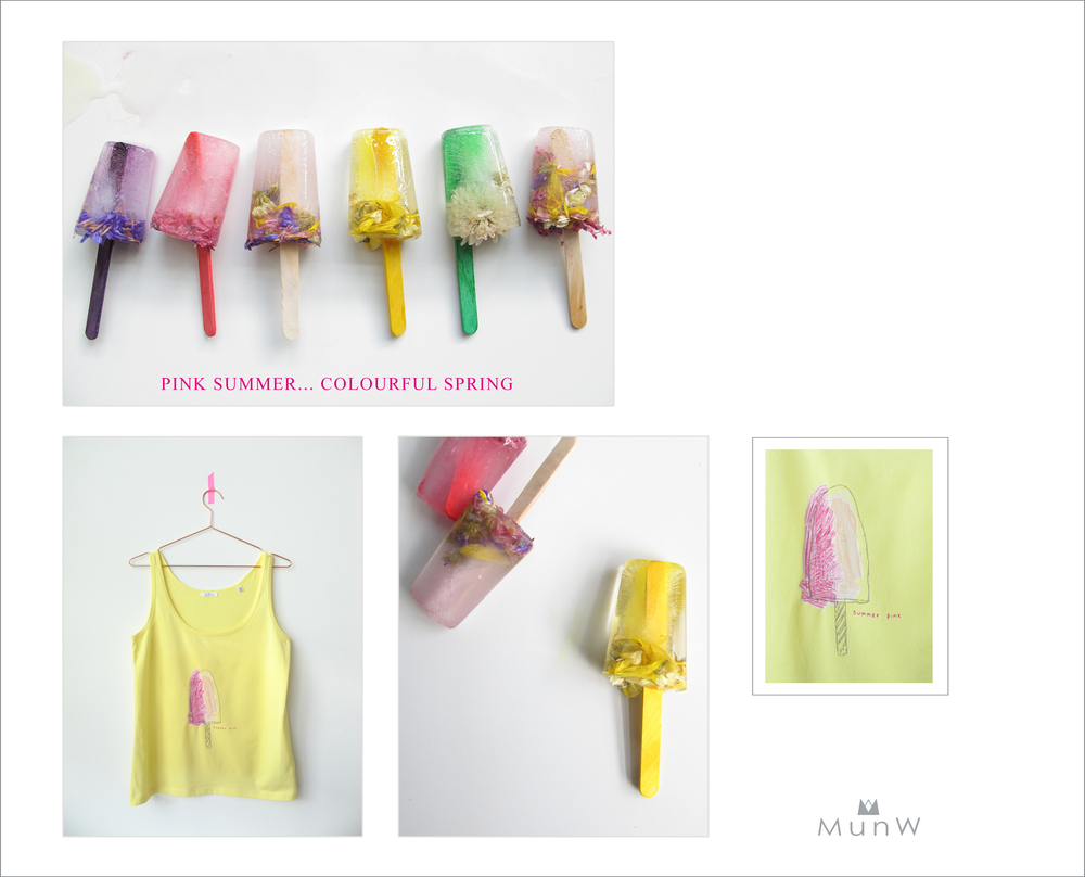 MunW lookbook: Popsicle t-shirt. Available at www.munw.es.