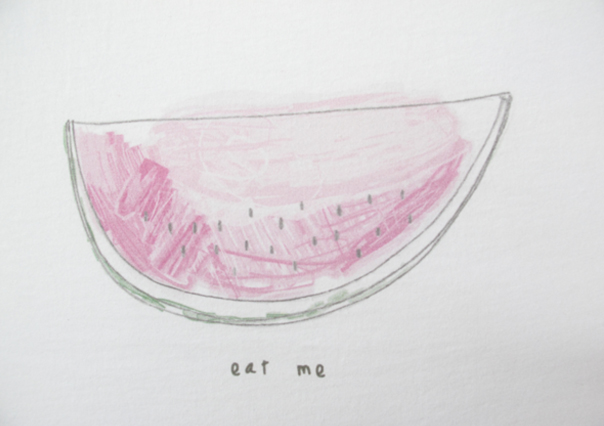 "| ""Eat me"" illustration, for a MunW product (t-shirts, bags, sweaters, etc). Available at www.munw.es. 