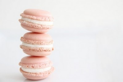 Summer pink, by MunW blog (www.munw.es). Macarons. Photo from http://4.bp.blogspot.com.