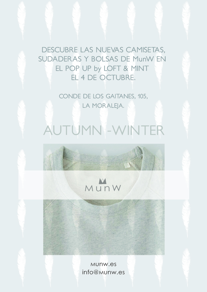 "Pop up event ""La Moraleja"". More news on www.munw.es."