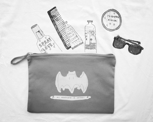 "| ""My boyfriend is Batman"" bag. www.munw.es. 