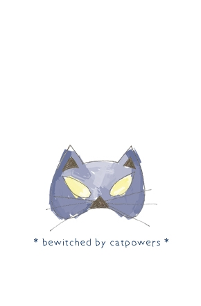 "| ""Bewitched by cat powers"" illustration, for a MunW product (t-shirts, bags, sweaters, etc). Available at www.munw.es. 