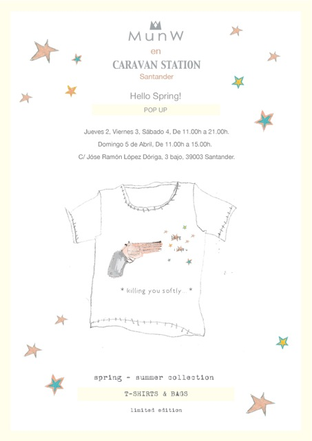 | Invitation MunW pop up in Caravan Station, Santander. More information on www.munw.es. |