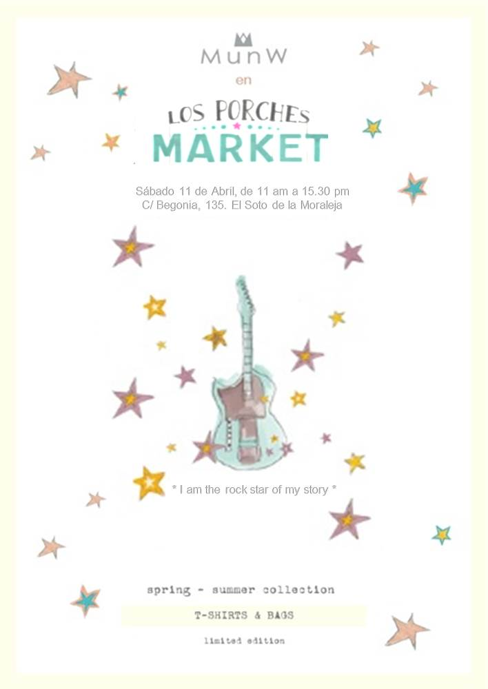 | MunW invitation for Los Porches market. More information on www.munw.es. |
