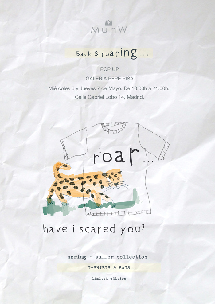 | MunW event at Pepe Pisa art gallery. Back... and roaring! For more information visit www.munw.es. |