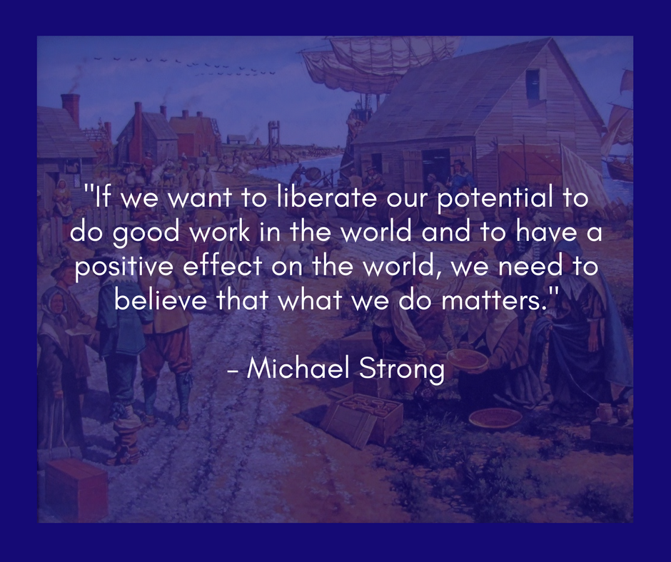 Read Michael's book,   Be the Solution:  How Entrepreneurs and Conscious Capitalists Can Solve All the World's Problems .