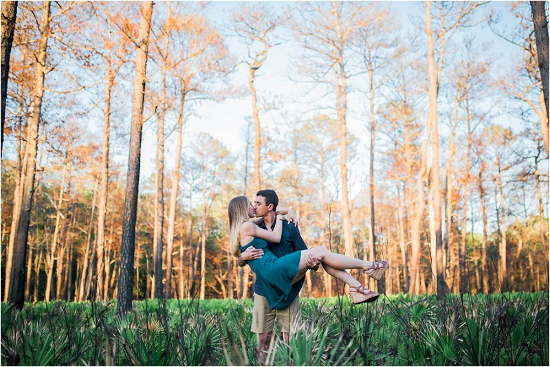 orlando wedding photographer engagement photos at wekiva springs state park nature engagement photos (6).jpg