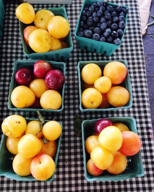 Yummy finds at the Farmer's Market!