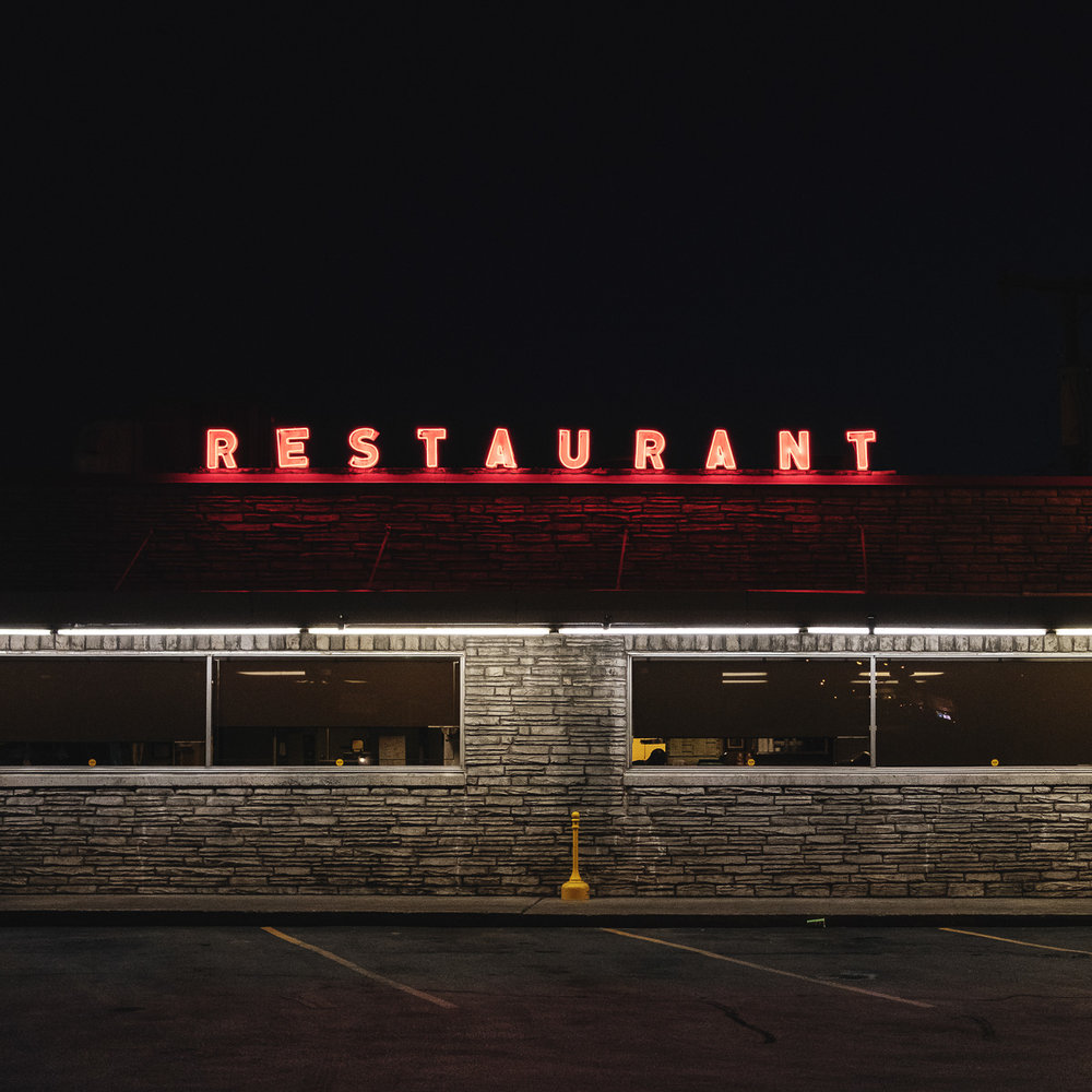 "Restaurant. 12"" x 12"" Chromogenic Print, Edition of 20, $250"