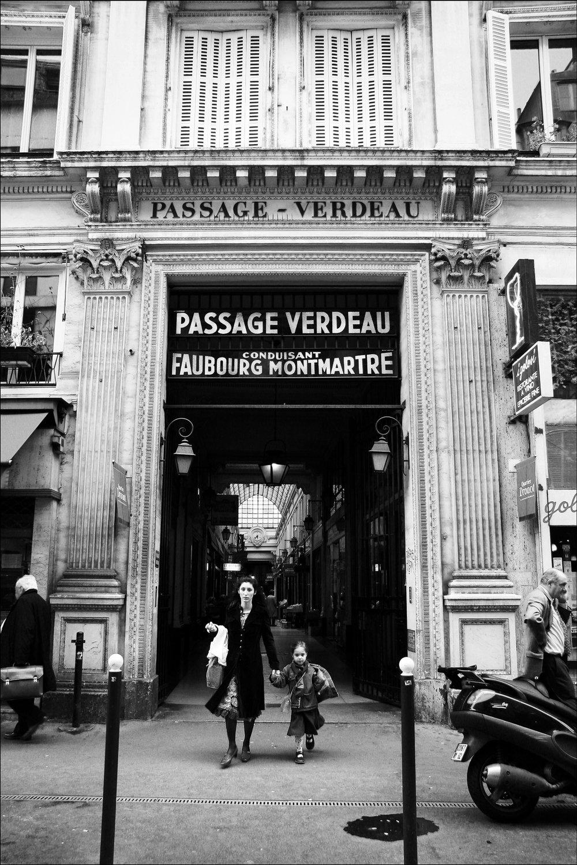 """Passage Verdeau   16""""x24"""" Black & White C-Print - $450 - 20 editions 18""""x27"""" Black& White C-Print - $600 - 20 editions"""