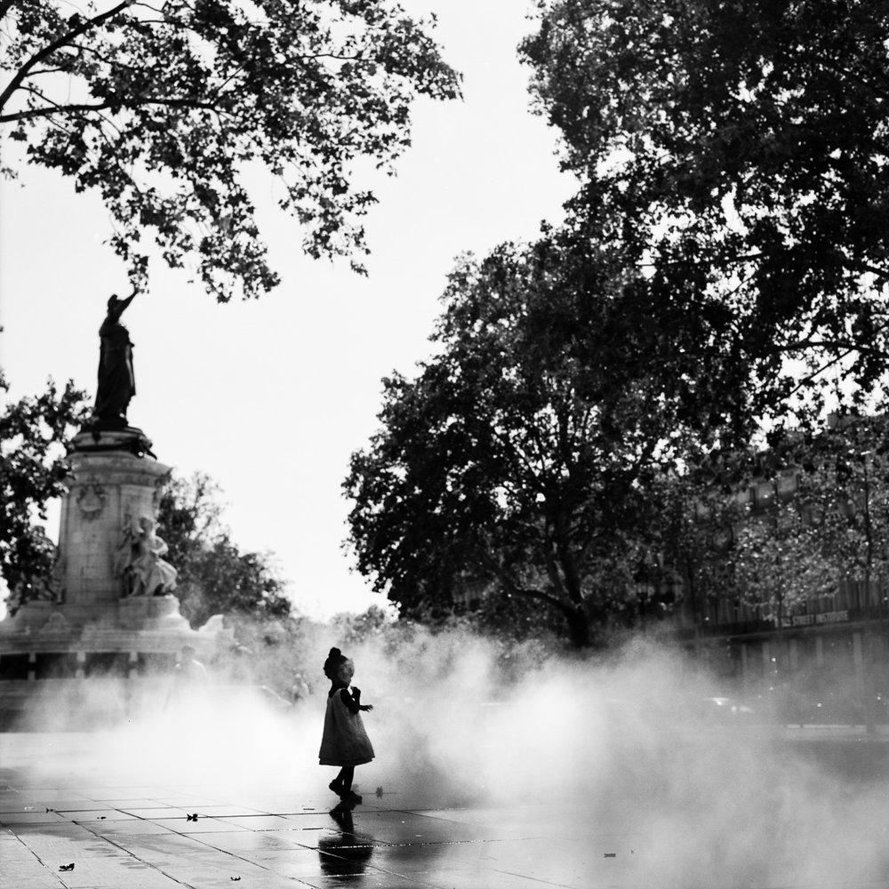 """Fille de la République  18""""x18"""" Black & White C-Print - $325 - 20 editions"""