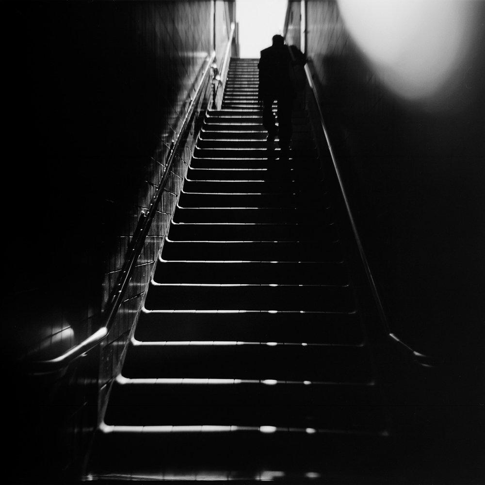"""St Andrew's Ascent  12""""x12"""" - Black & White C-Print - $250 - 25 editions 18""""x18"""" - Black & White C-Print - $325 - 20 Editions"""