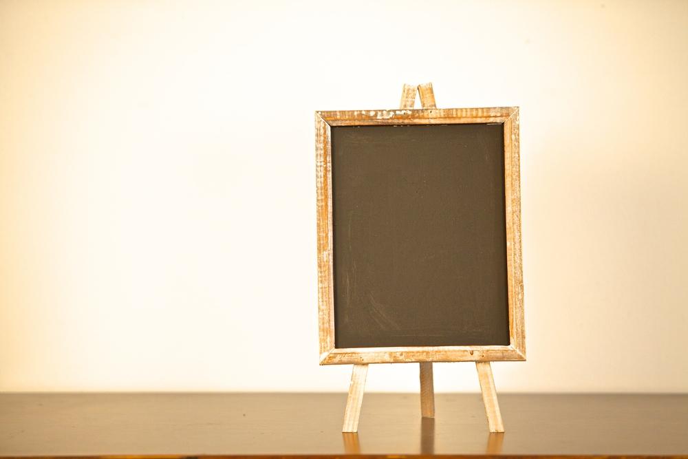 """8""""x10"""" Chalkboard Easel $8"""