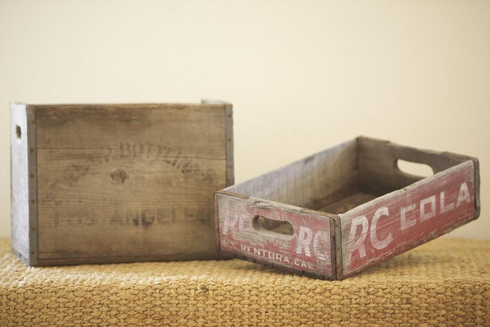 Wood Crates (L $25, S $10)