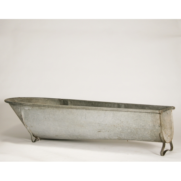 Large Galvanized Tub $125