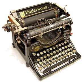 Underwood Typewriter $20
