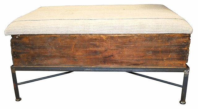 Crate Ottoman Coffee Table $65