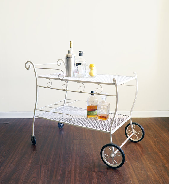 Patio Bar Cart $65