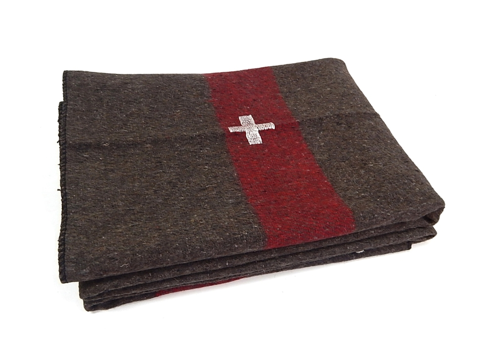cross blanket $15