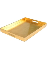 Gold Serving Tray $10