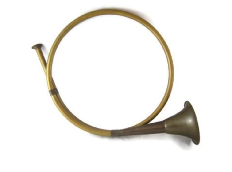 Vintage Hunting Horn $10