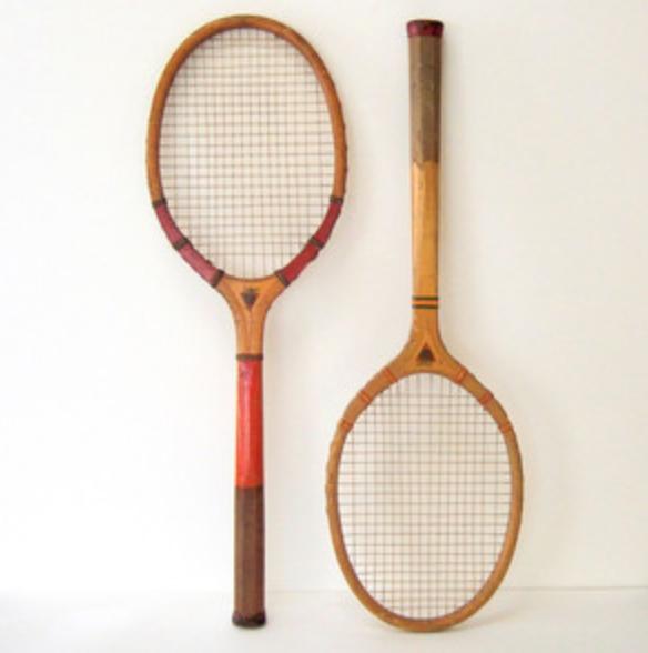 Vintage Tennis Rackets $8