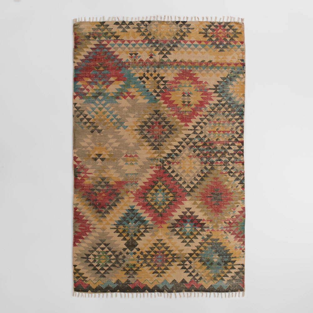 Nomad woven rug $45