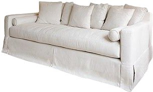 Hallie Linen Sofa $325