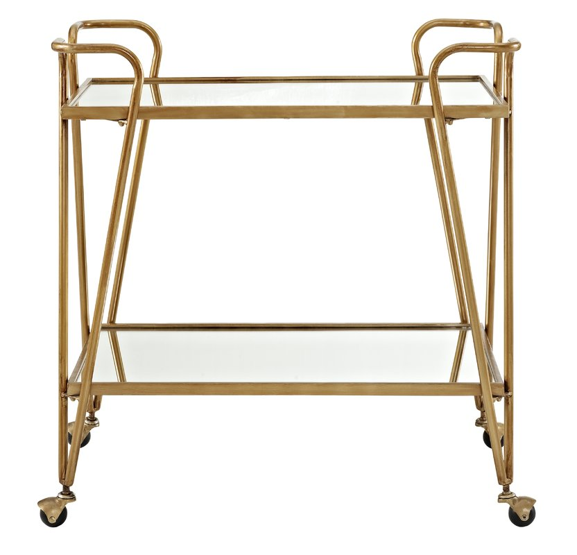 Gold Bar Cart $55