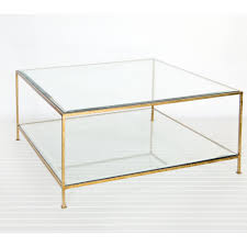 square glass coffee table (2) $65