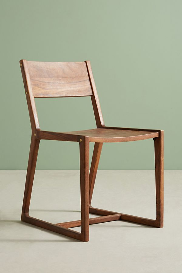 Hudson Wood Chair (2) $40