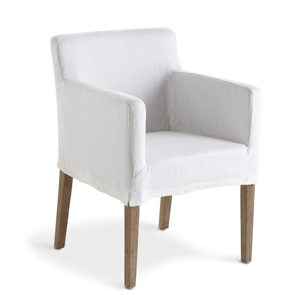 Slipcovered Canyon Chair (2) $85